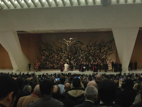 Papa Francisco a los medios de comunicación que han cubierto el Cónclave:
