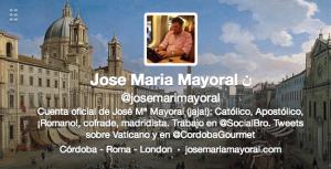 Jose Maria Mayoral Twitter