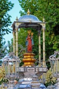 Virgen de la Fuensanta en procesion