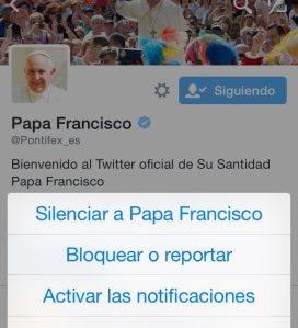 Notificaciones Pontifex