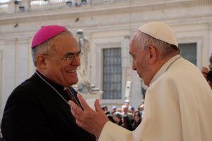 demetrio y papa francisco